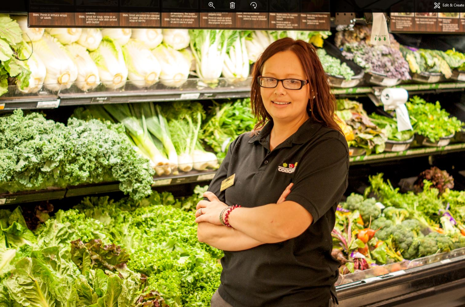 Produce Clerk: Huron, SD